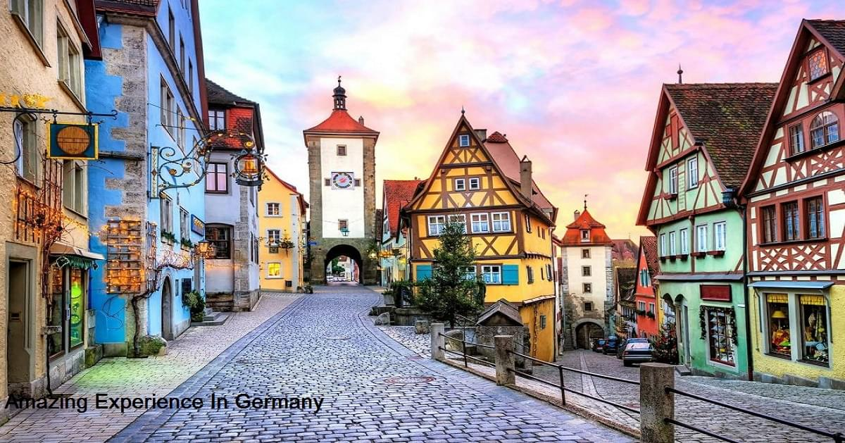 Amazing Experience In Germany Tour