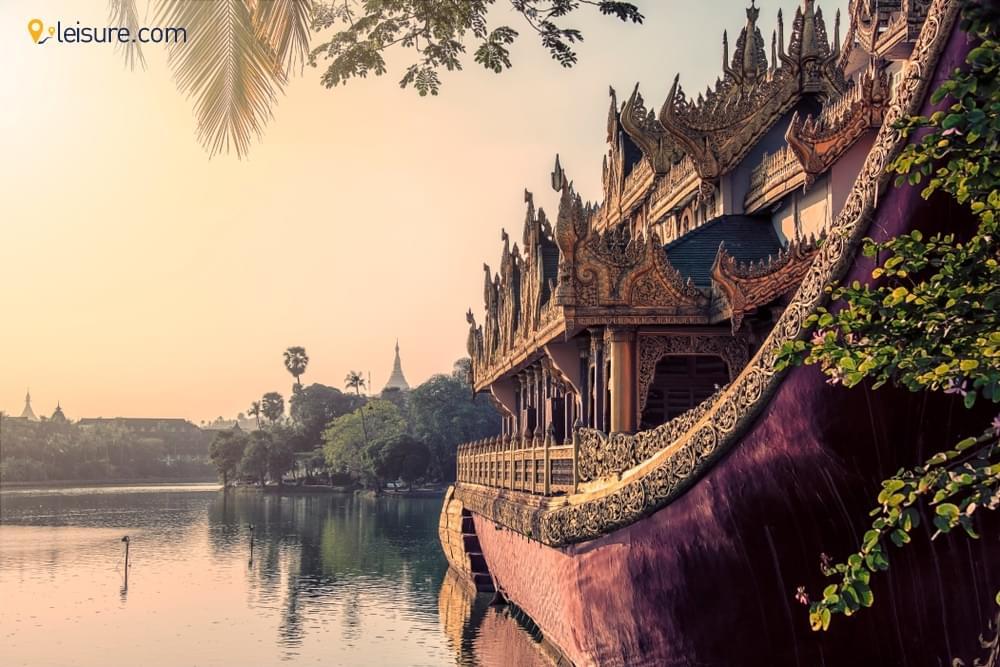 Vacation in Myanmar d