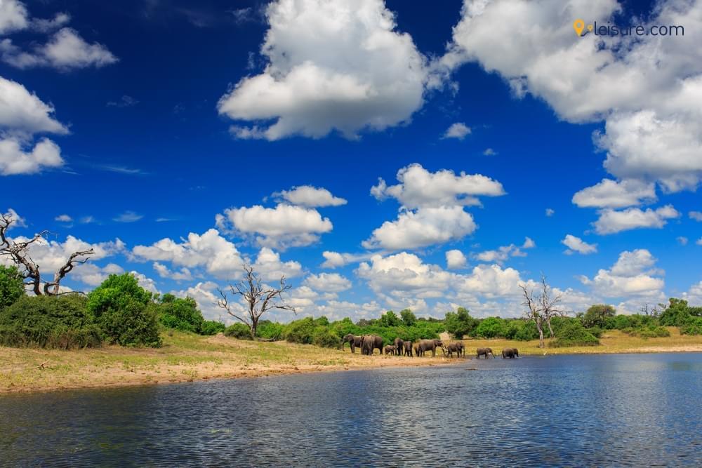 Visit in Botswana in 20