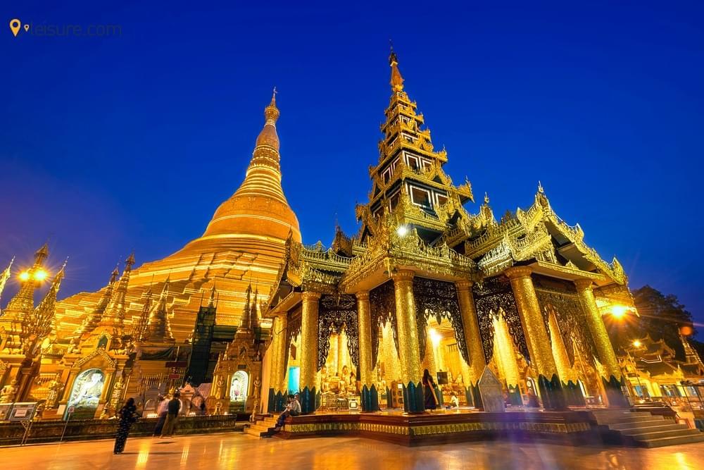 Vacation in Myanmar dew