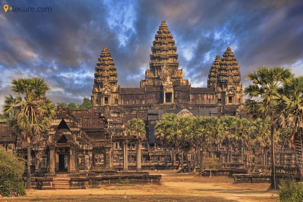 Magical Sunrise and Sunset at Angkor Watv