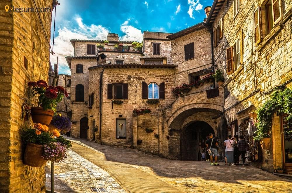 Assisi, Bologna, Venice,