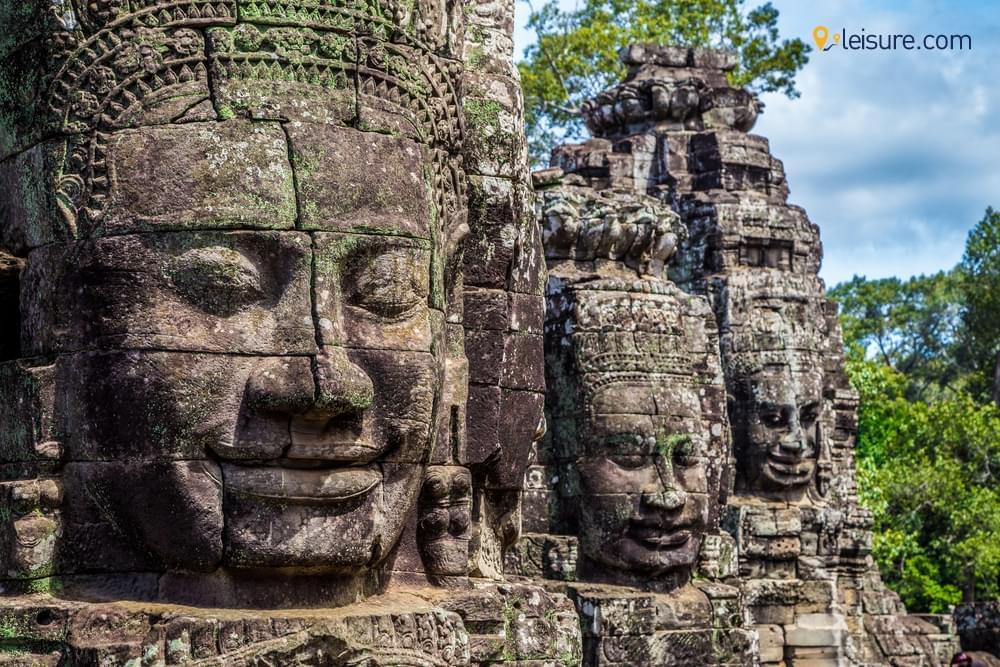 Arrival in Cambodia
