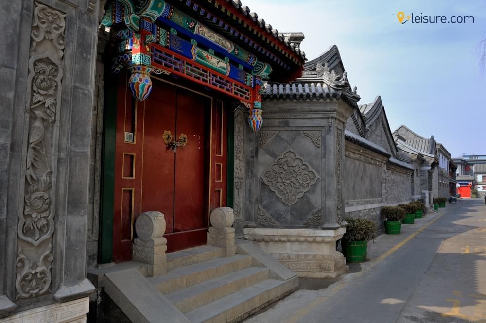 China at Beijing and Harbingg