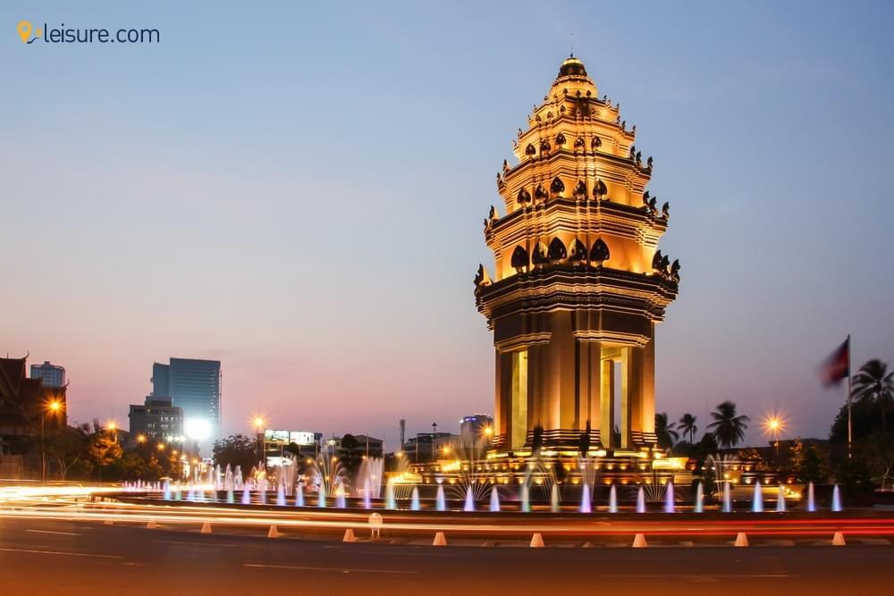 Arrival in Cambodias