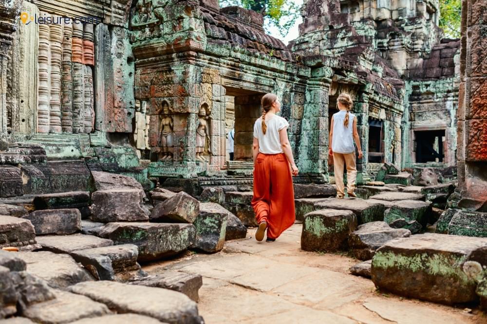 Arrival in Cambodiav