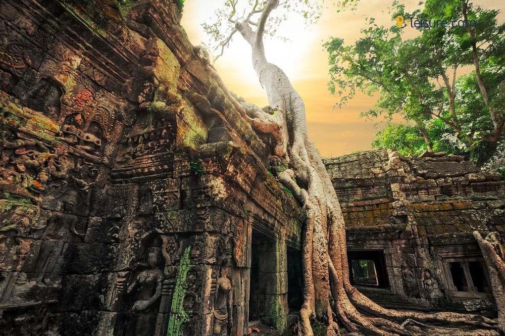 Magical Sunrise and Sunset at Angkor Wats