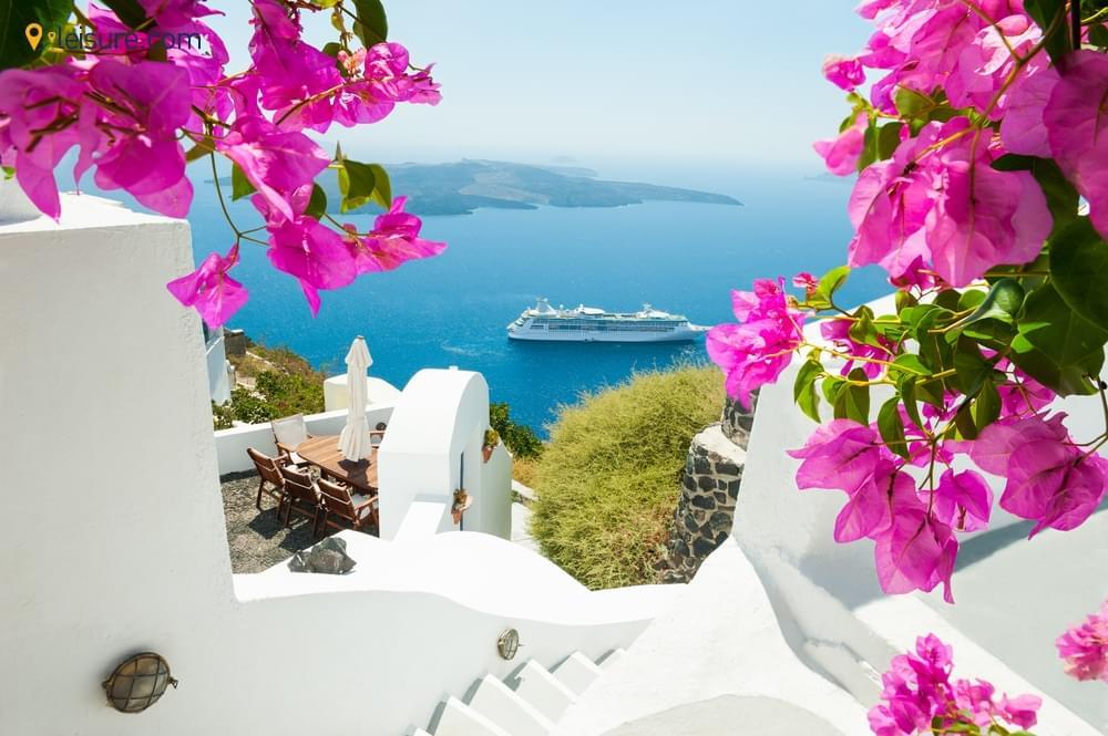 Mykonos, And Santorini