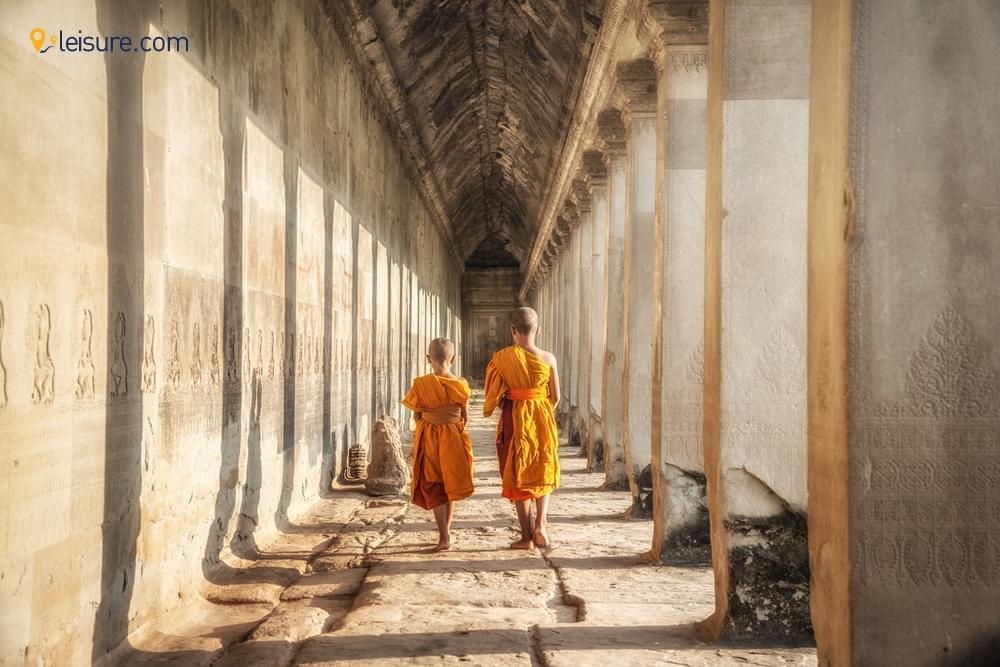 Magical Sunrise and Sunset at Angkor Wat